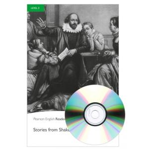 Stories from Shekespeare + MP3. Pearson English Readers