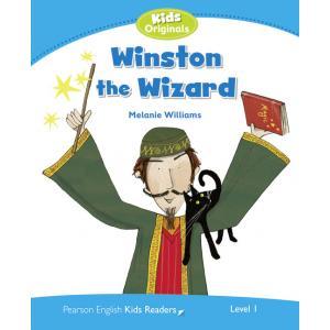 Winston the Wizard. Penguin Kids. Poziom 1