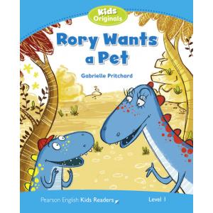Rory Wants a Pet. Penguin Kids. Poziom 1