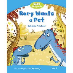 Rory Wants a Pet. Penguin Kids. Poziom 1