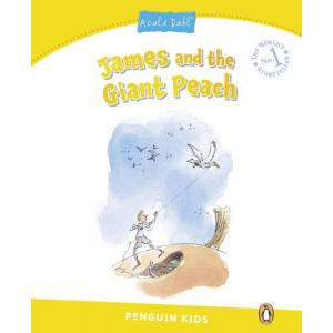 James and the Giant Peach. Penguin Kids. Poziom 6