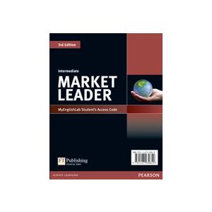Market Leader 3ed Intermediate MyEngLab Student Access Card