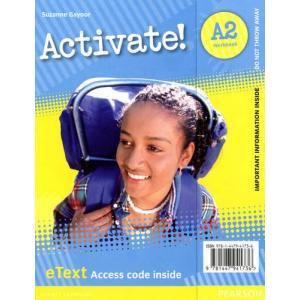 Activate! A2. eText Workbook Access Card