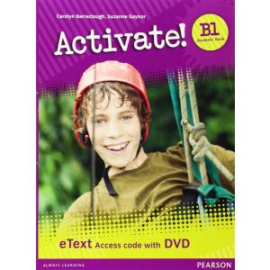 Activate! B1. eText Students' Book Access Card + DVD