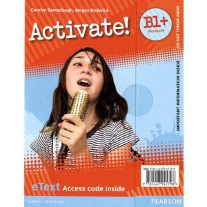 Activate! B1+. eText Workbook Access Card