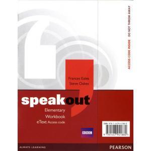 Speakout Elementary. Workbook eText AccessCard