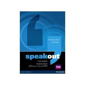 Speakout Intermediate. Students' Book eText AccessCard + DVD
