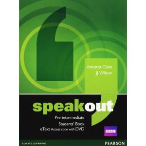 Speakout Pre-Intermediate. Students' Book eText AccessCard + DVD