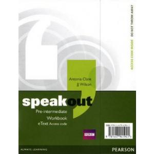 Speakout Pre-Intermediate. Workbook eText AccessCard