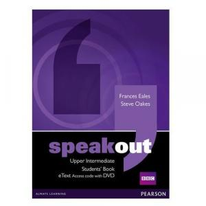 Speakout Upper Intermediate Students' Book eText Access Code with DVD