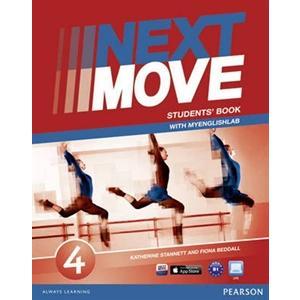 Next Move 4. Podręcznik + MyEnglishLab