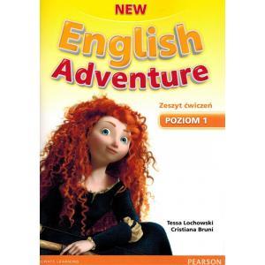 New English Adventure 1. Ćwiczenia + CD (Również Do Wersji Wieloletniej)