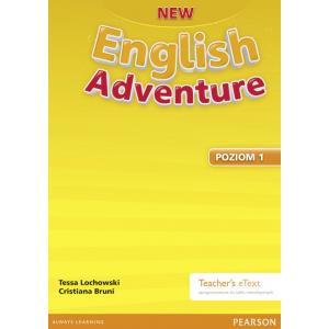 New English Adventure PL 1 Teacher's eText (do wersji wieloletniej)