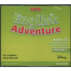 New English Adventure 2. CD do Podręcznika (Do Wersji Wieloletniej)