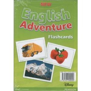 New English Adventure 2. Flashcards (Do Wersji Wieloletniej)
