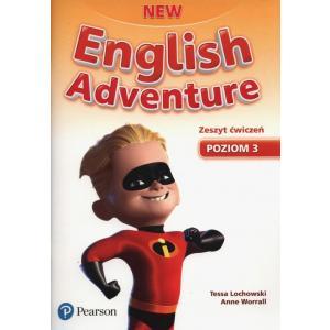 New English Adventure 3. Materiał Ćwiczeniowy + CD (Do Wersji Wieloletniej)
