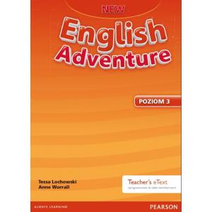 New English Adventure PL 3. Teacher's eText (Active Teach) Oprogramowanie do Tablicy  Interaktywnej do Wersji Wieloletniej Podręcznika