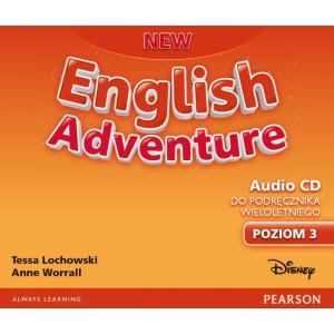 New English Adventure PL 3. Class CD do Podręcznika Wieloletniego