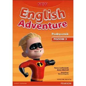 New English Adventure 3. Podręcznik Wieloletni + MP3