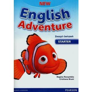 New English Adventure PL Starter AB +Song CD