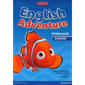 New English Adventure PL Starter PB +DVD
