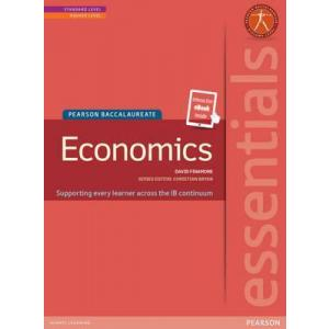 Pearson Baccalaureate Essentials: Economics print and ebook bundle