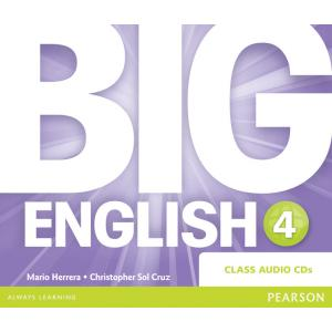 Big English 4. CD do Podręcznika
