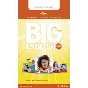 Big English Starter. Pupil's eText AccessCodeCard