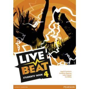 Live Beat GL 4. Podręcznik. Wersja Dla Szkół Językowych