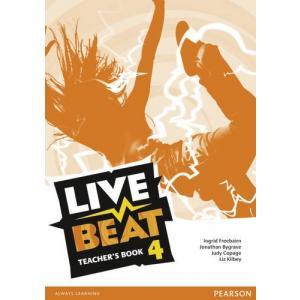 Live Beat GL 4. Książka Nauczyciela. Wersja Dla Szkół Językowych