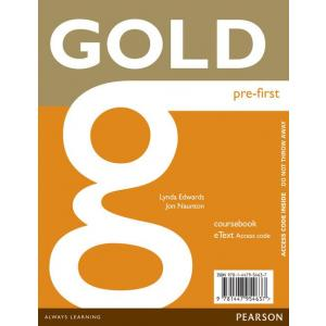 Gold Pre-First. eText Student's AccessCodeCard