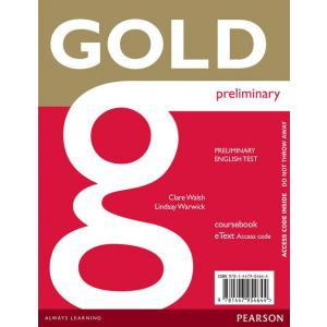 Gold Preliminary. eText Student's AccessCodeCard
