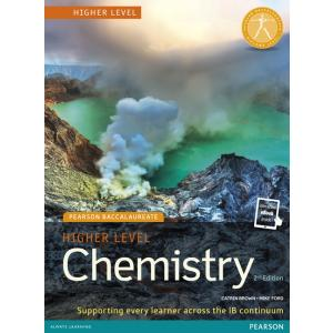 Chemistry Higher Level 2nd edition Print   Online. PB