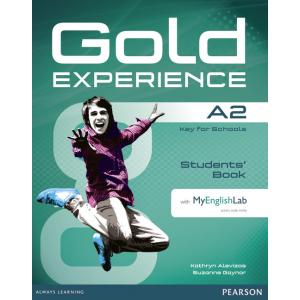Gold Experience A2. Podręcznik + DVD + MyEnglishLab