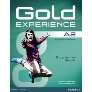 Gold Experience A2. Podręcznik + DVD