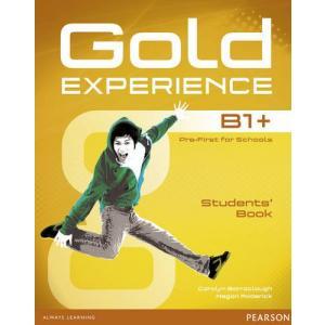 Gold Experience B1+. Podręcznik + DVD-Rom