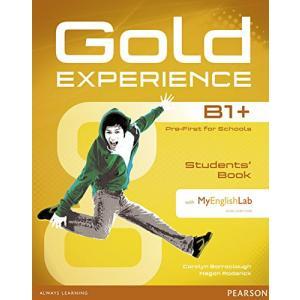 Gold Experience B1+. Podręcznik + DVD-ROM + MyEnglishLab
