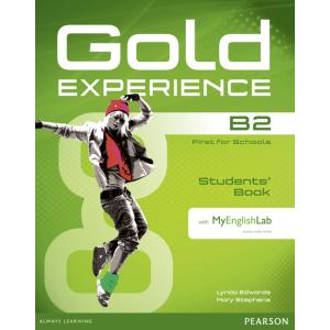 Gold Experience B2. Podręcznik + CD + MyEnglishLab