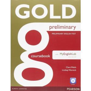 Gold Preliminary Podręczmnik + CD-ROM + MyEngLab