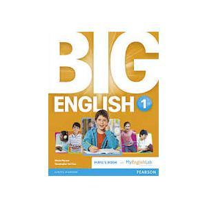 Big English 1. Podręcznik + MyEnglishLab