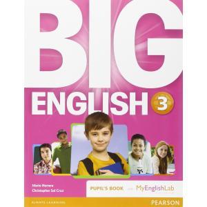 Big English 3. Podręcznik + MyEnglishLab