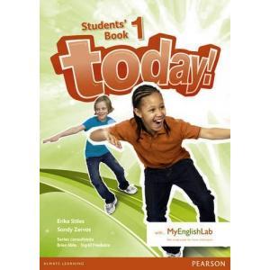 Today! 1. Podręcznik +  MyEngLab. Wersja Dla Szkół Językowych