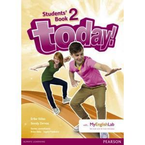 Today! 2. Podręcznik + MyEngLab. Wersja Dla Szkół Językowych