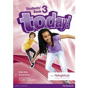Today! 3. Podręcznik + MyEngLab. Wersja Dla Szkół Językowych