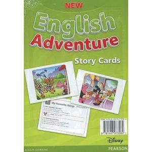 New English Adventure 2. Storycards do Podrecznika Wieloletniego