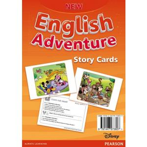 New English Adventure 3. Storycards