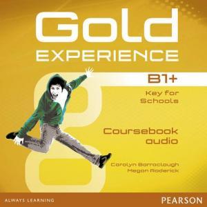 Gold Experience B1+. CD do Podręcznika