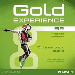 Gold Experience B2. CD do Podręcznika
