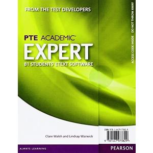 Expert PTE Academic B1. eText Student's AccessCodeCard