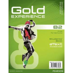 Gold Experience B2. Student's eText AccessCodeCard